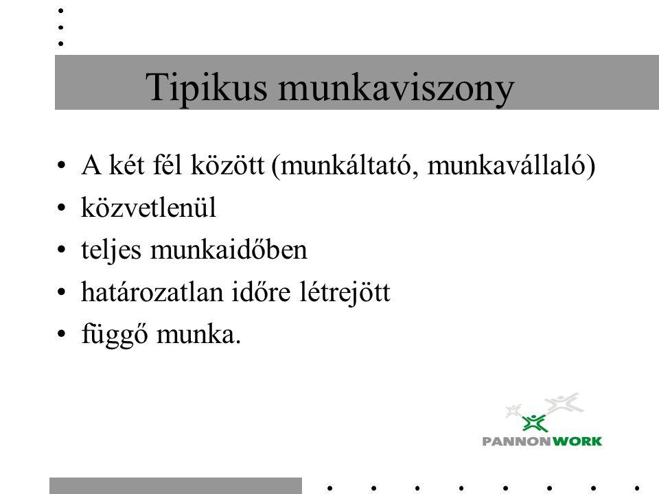 Atipikus munkaviszonyok határozott idejű Mt.79.§, MK 6.
