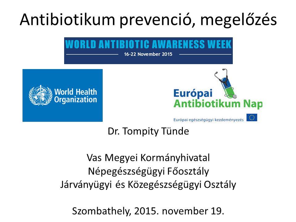 Antibiotikum prevenció, megelőzés Dr.