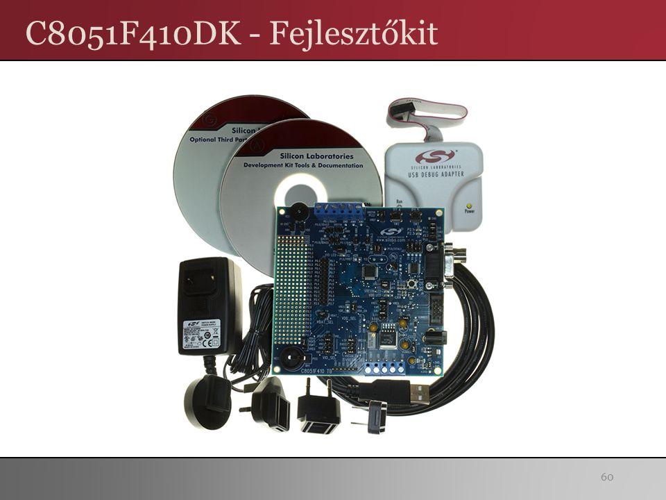 C8051F410DK - Fejlesztőkit 60