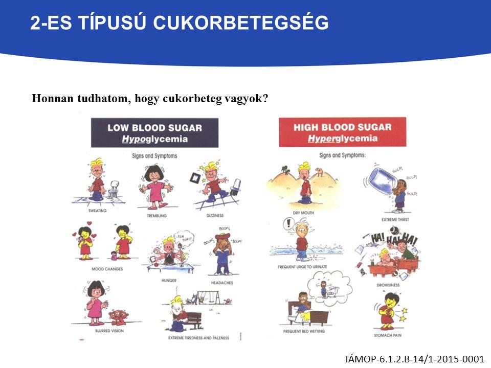 2-ES TÍPUSÚ CUKORBETEGSÉG Honnan tudhatom, hogy cukorbeteg vagyok? TÁMOP-6.1.2.B-14/1-2015-0001