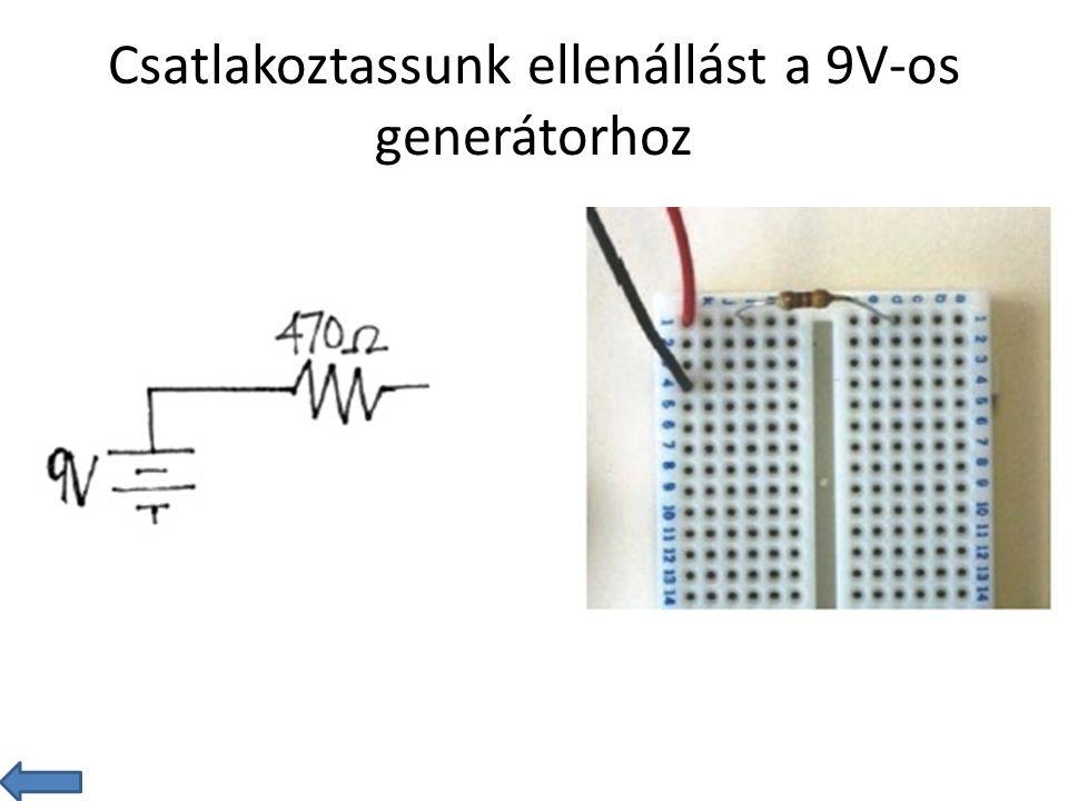 Fényerősség mérése és kijelzése Készítsen áramkört, amely alkalmas a fényerősség mérésére.