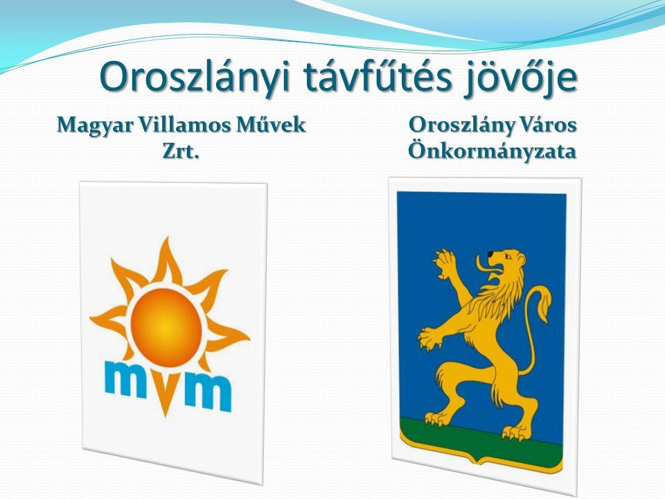 Oroszlányi távfűtés jövője Magyar Villamos Művek Zrt. Oroszlány Város Önkormányzata