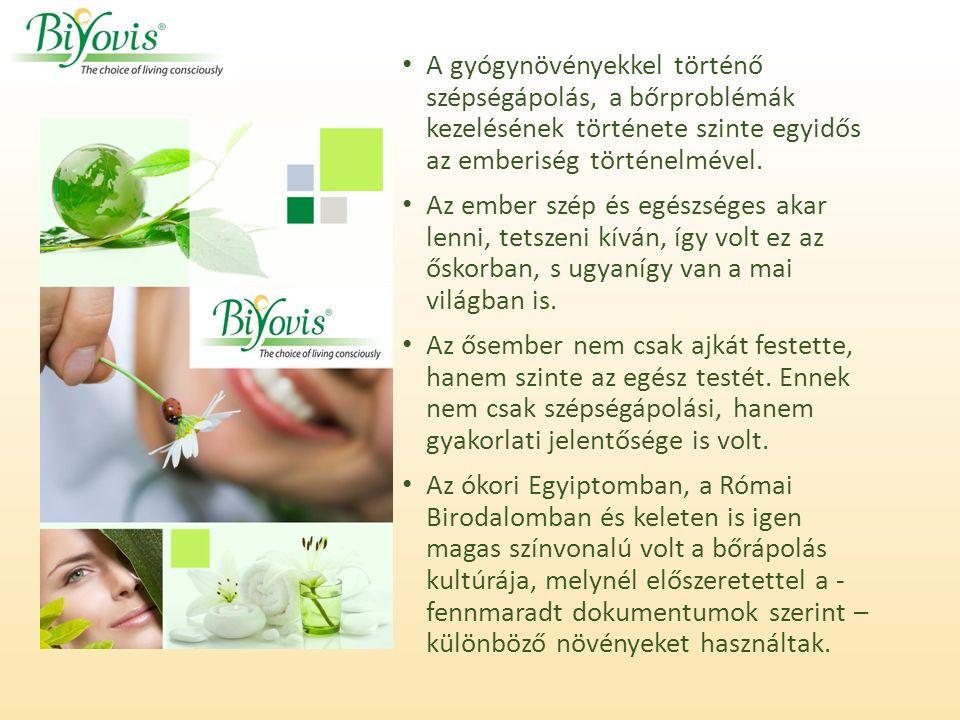 A gyógynövényekkel történő szépségápolás, a bőrproblémák kezelésének története szinte egyidős az emberiség történelmével.