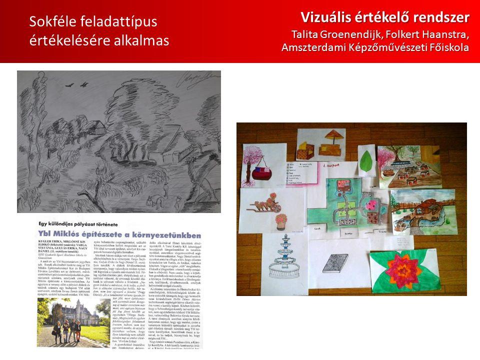 Sokféle feladattípus értékelésére alkalmas Vizuális értékelő rendszer Talita Groenendijk, Folkert Haanstra, Amszterdami Képzőművészeti Főiskola