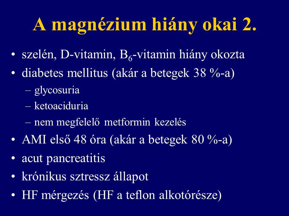 A magnézium hiány okai 2.