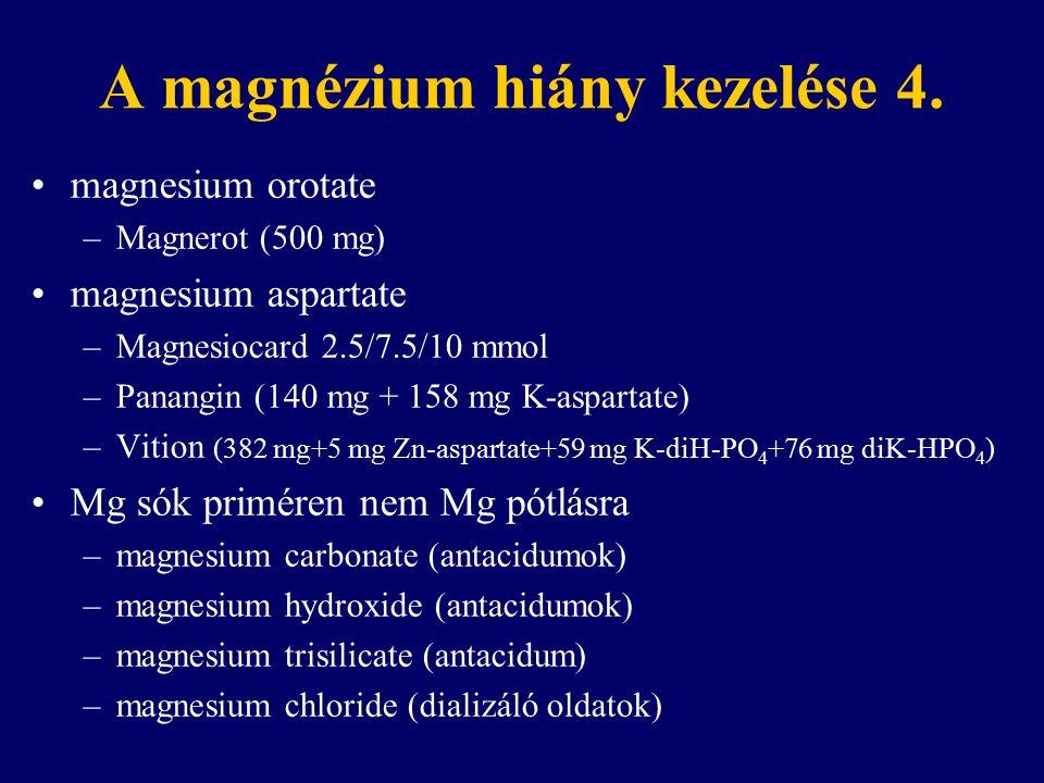 A magnézium hiány kezelése 4.