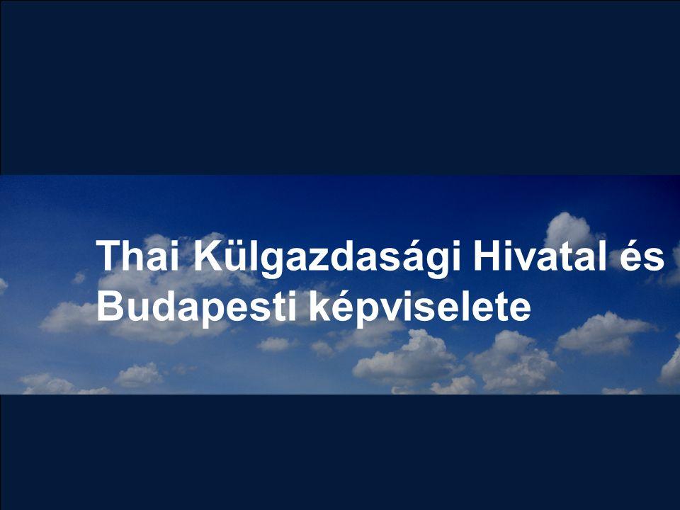 Thai Külgazdasági Hivatal és Budapesti képviselete