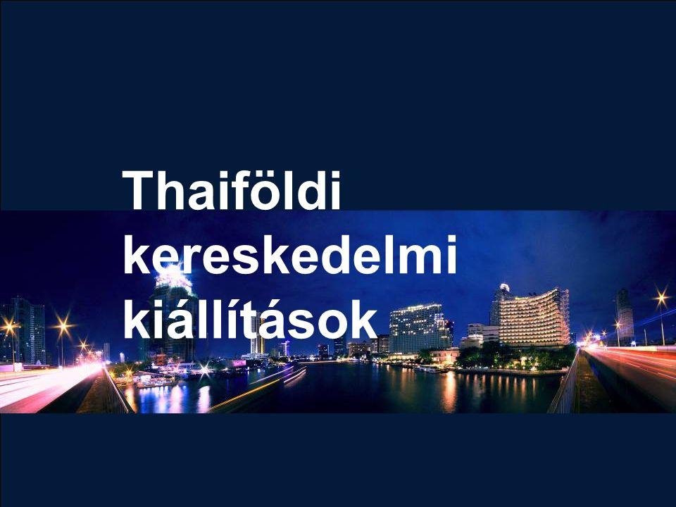 Thaiföldi kereskedelmi kiállítások