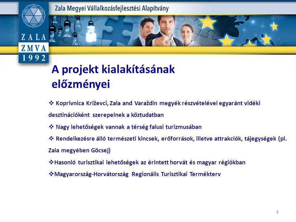  Koprivnica Križevci, Zala and Varaždin megyék részvételével egyaránt vidéki desztinációként szerepelnek a köztudatban  Nagy lehetőségek vannak a té