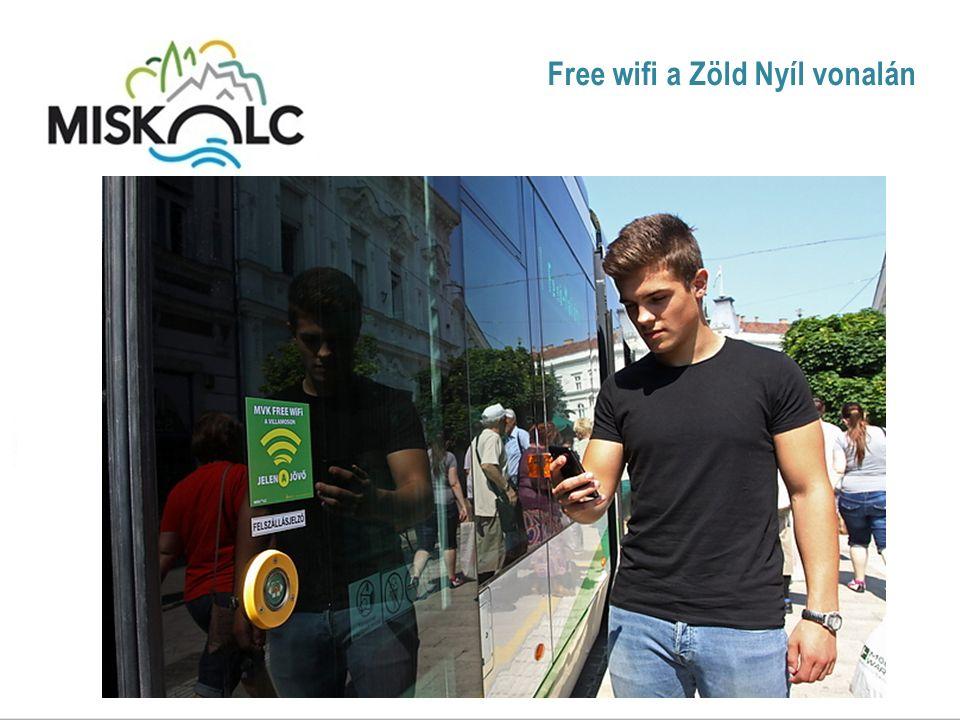 Free wifi a Zöld Nyíl vonalán