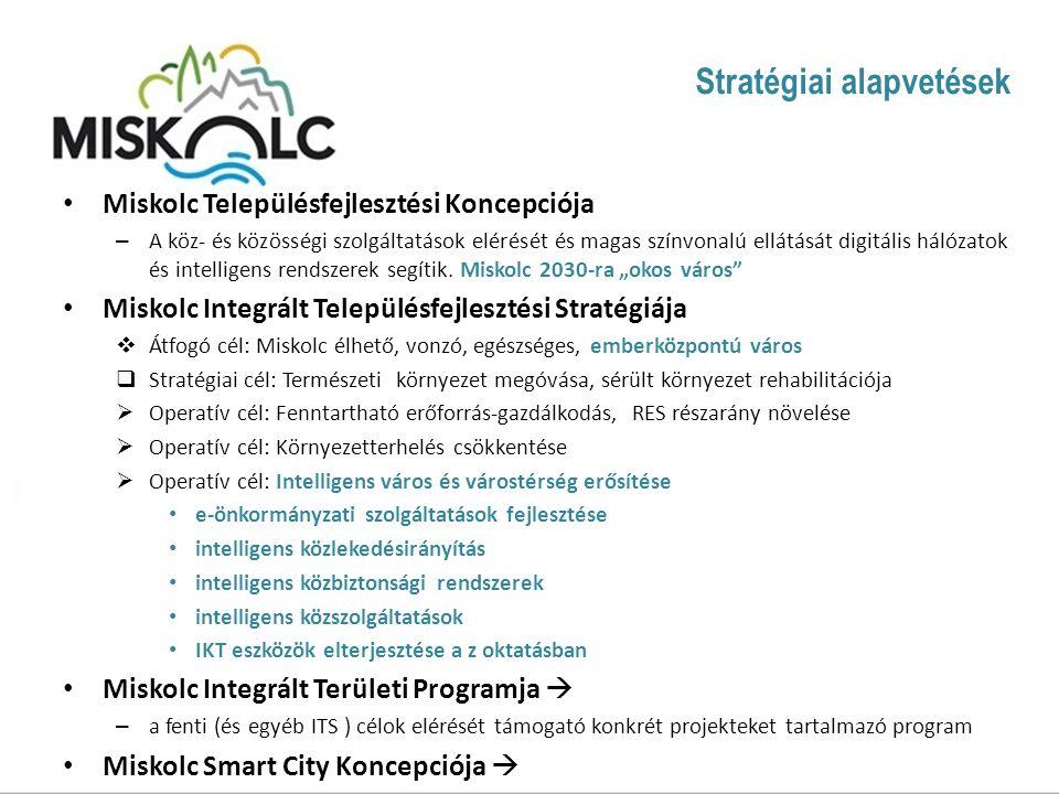 Miskolc Településfejlesztési Koncepciója – A köz- és közösségi szolgáltatások elérését és magas színvonalú ellátását digitális hálózatok és intelligens rendszerek segítik.