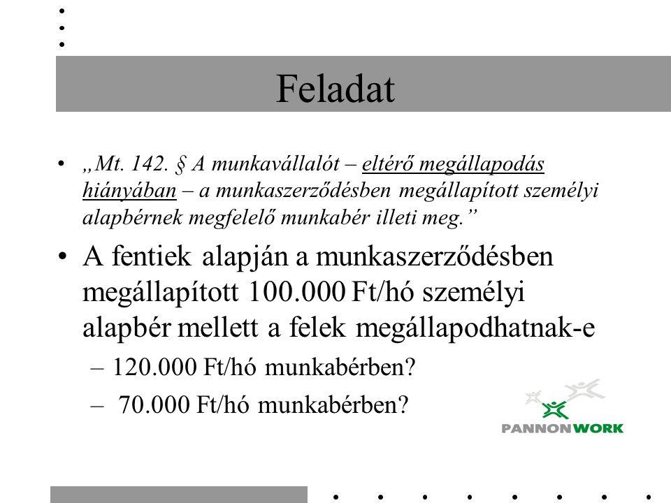 """Feladat """"Mt. 142."""