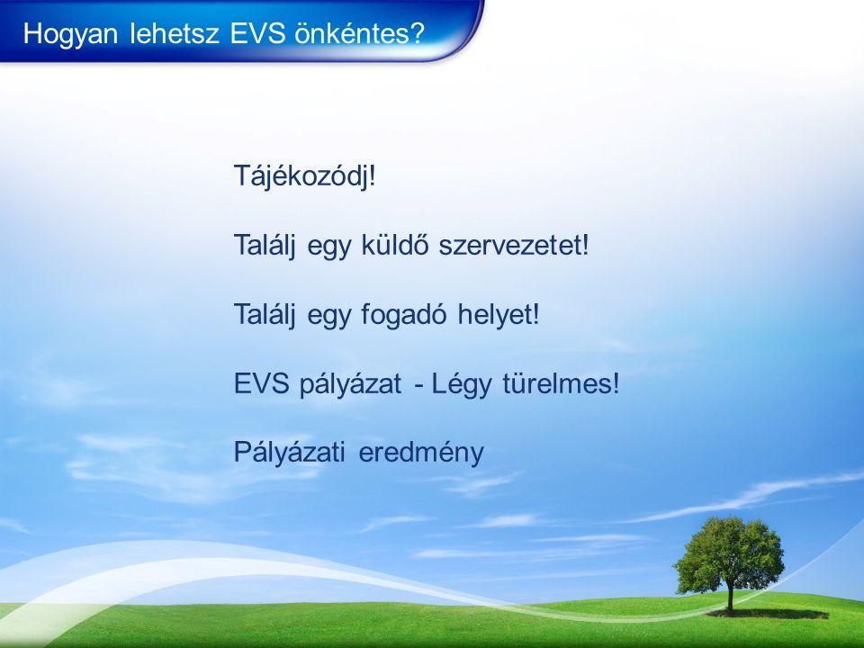 Hogyan lehetsz EVS önkéntes.Tájékozódj. Találj egy küldő szervezetet.