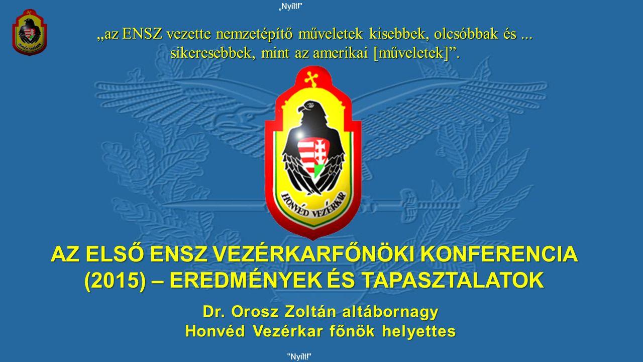 Nem nyilvános! 2 Tanulmányok, iskolák 2007-2010.Zrínyi Miklós Nemzetvédelmi Egyetem, Ph.D.