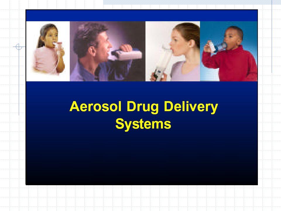 Gyógyszeres aeroszolok csoportosítása III.