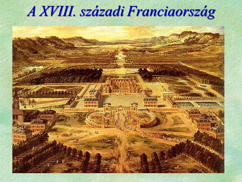 A XVIII. századi Franciaország