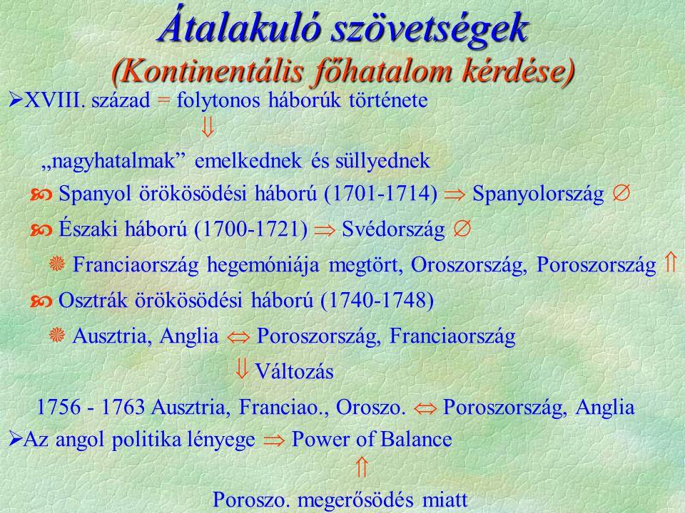 Lengyelország első felosztása (A sikertelen felzárkózás) (A sikertelen felzárkózás)           †  XVII.