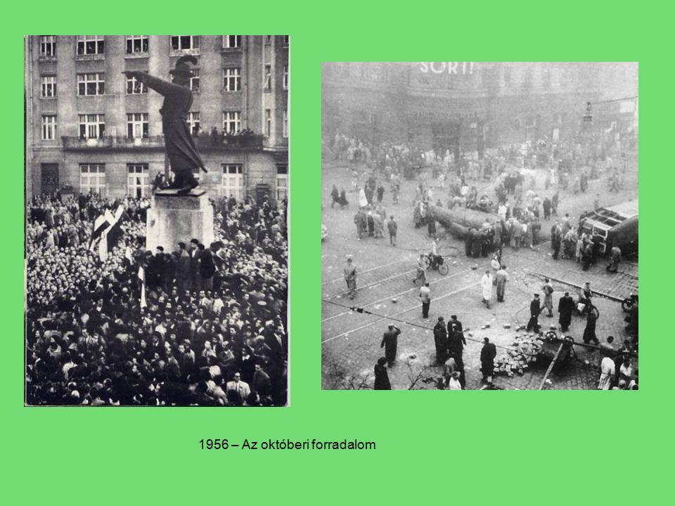 1956 – Az októberi forradalom