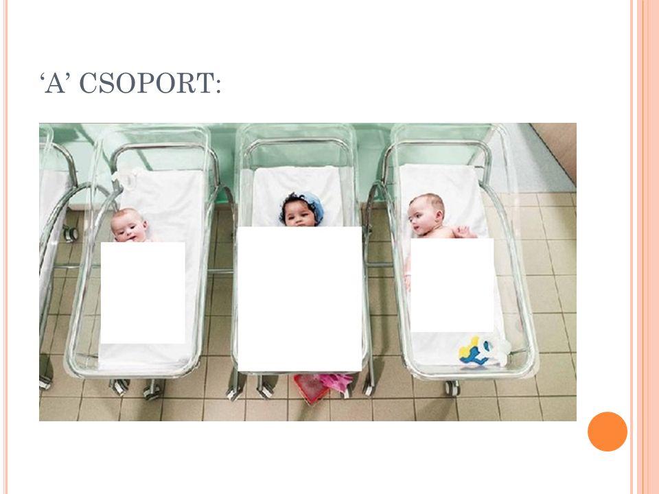 'A' CSOPORT: