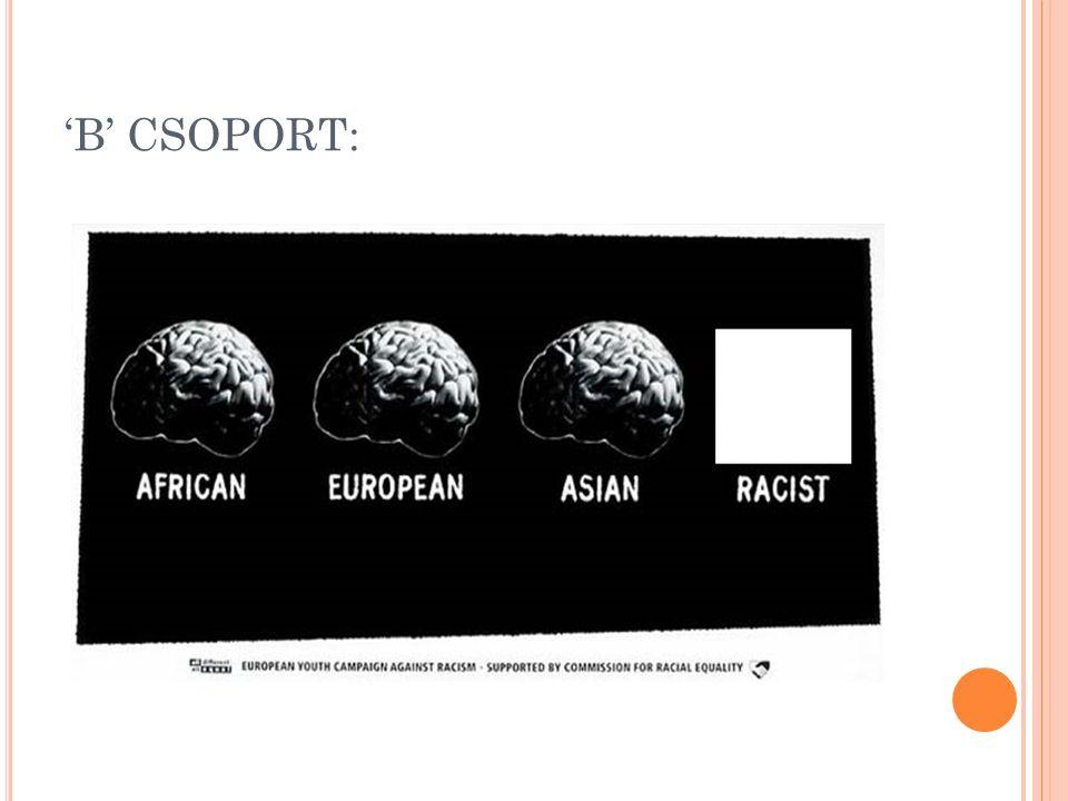 'B' CSOPORT: