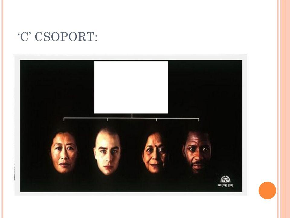 'C' CSOPORT: