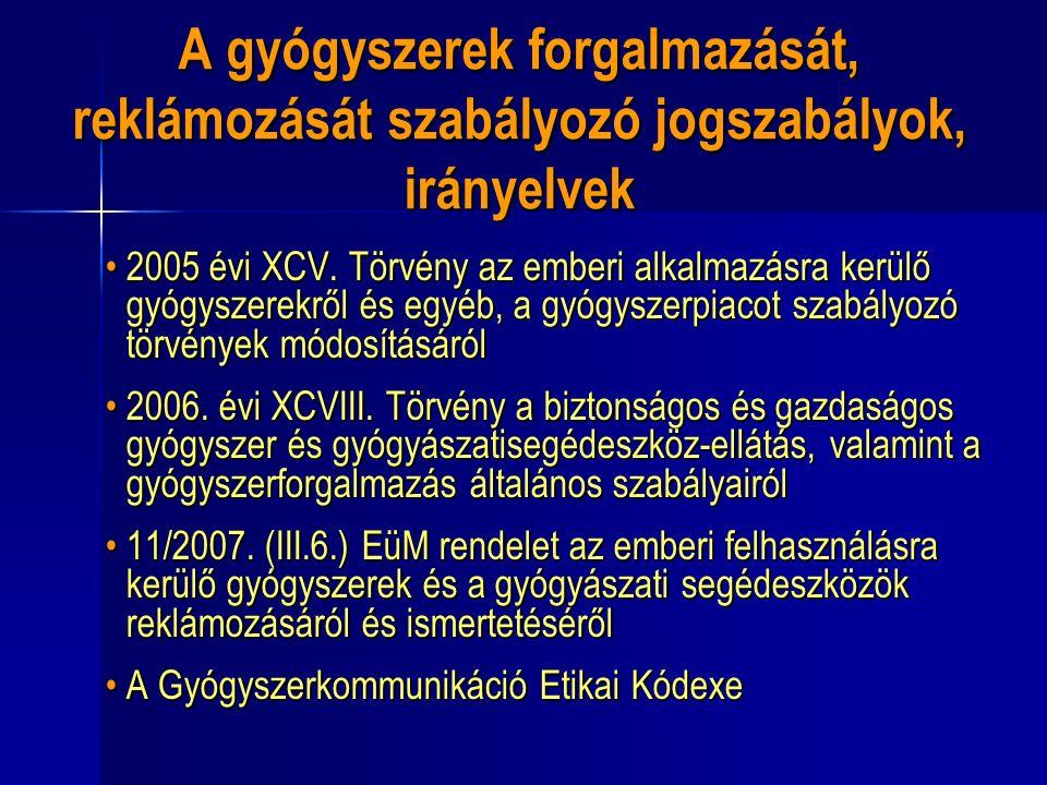 2005 évi XCV.