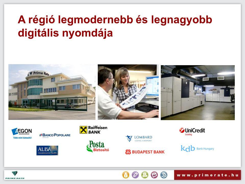 A régió legmodernebb és legnagyobb digitális nyomdája