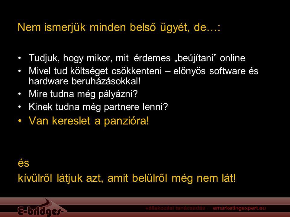 """Nem ismerjük minden belső ügyét, de…: Tudjuk, hogy mikor, mit érdemes """"beújítani online Mivel tud költséget csökkenteni – előnyös software és hardware beruházásokkal."""