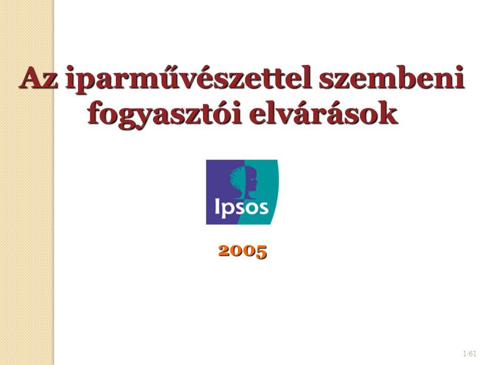 1/61 Az iparművészettel szembeni fogyasztói elvárások 2005