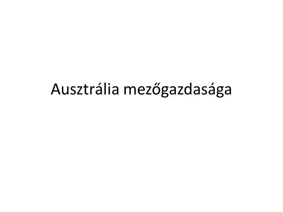 Ausztrália mezőgazdasága