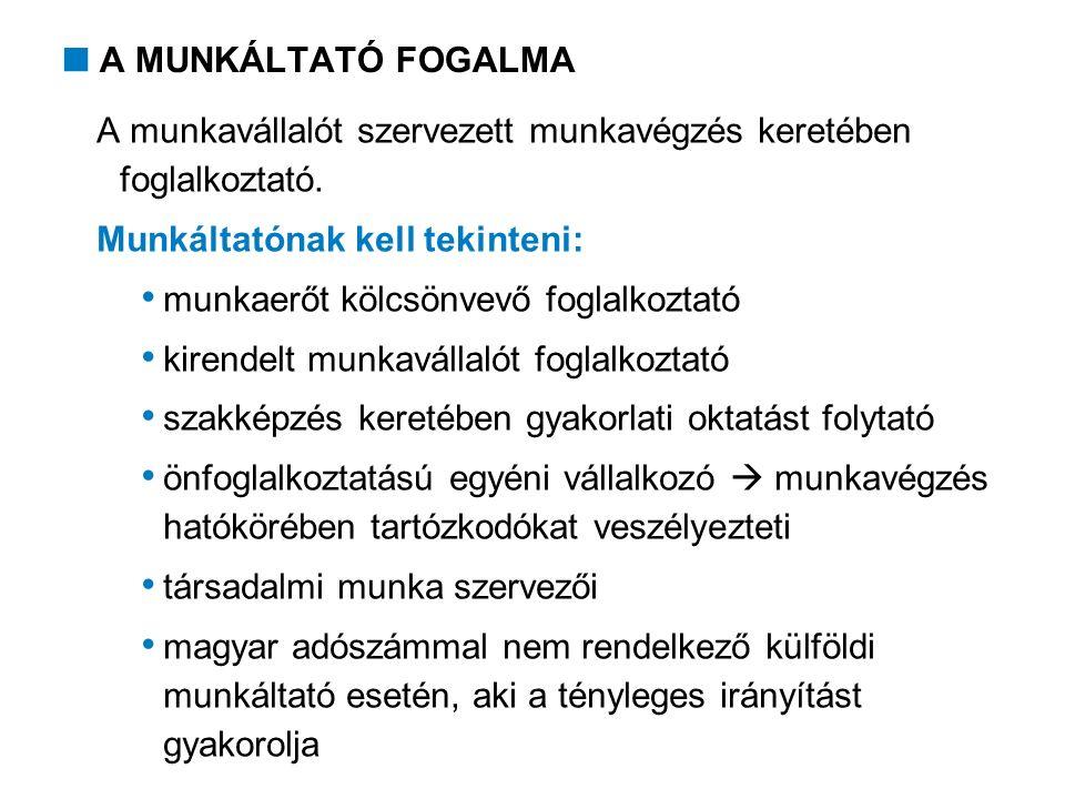 6.MUNKAVÉGZÉS HATÓKÖRÉBEN TARTÓZKODÓK VÉDELME  Kötelezettségek 6.