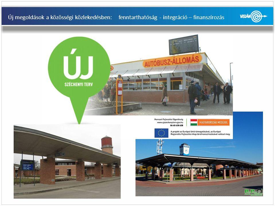 Új megoldások a közösségi közlekedésben: fenntarthatóság - integráció – finanszírozás