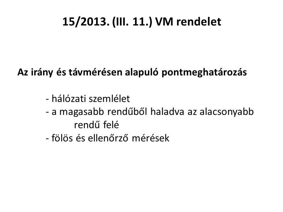 15/2013. (III.