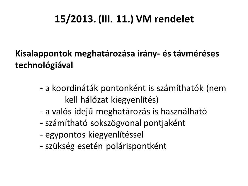 15/2013.(III.