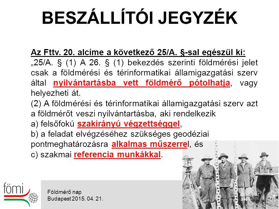 """9 Az Fttv. 20. alcíme a következő 25/A. §-sal egészül ki: """"25/A."""