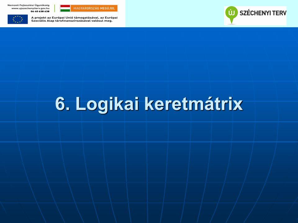 6. Logikai keretmátrix