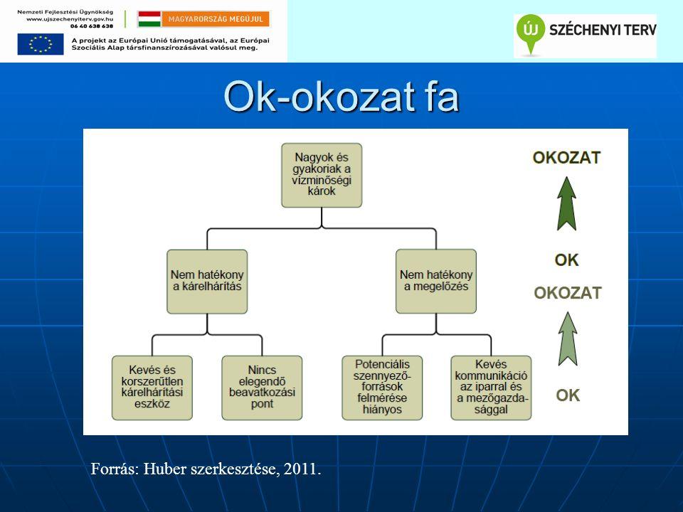 Ok-okozat fa Forrás: Huber szerkesztése, 2011.