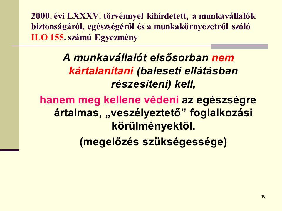 16 2000.évi LXXXV.