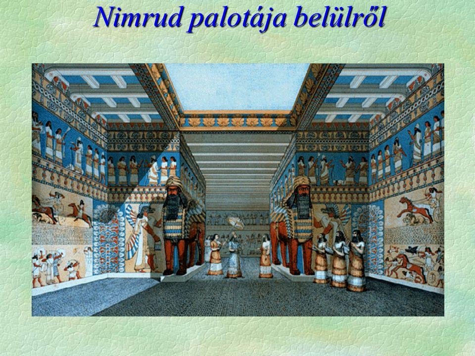 Nimrud palotája belülről