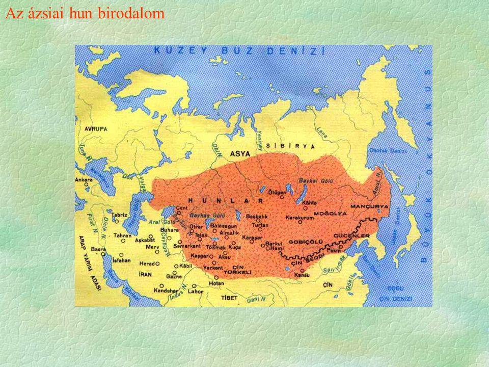 Az ázsiai hun birodalom