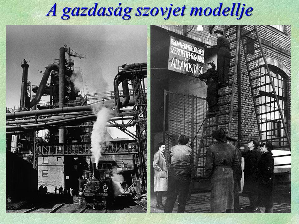 A gazdaság szovjet modellje