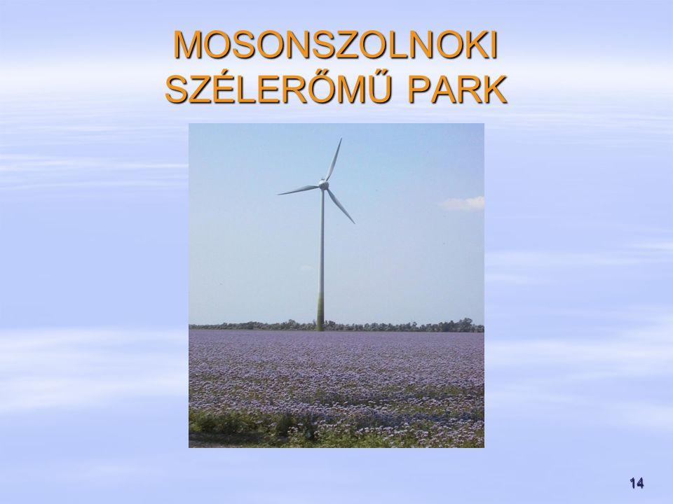 14 MOSONSZOLNOKI SZÉLERŐMŰ PARK