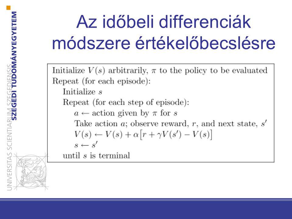 Az időbeli differenciák módszere értékelőbecslésre