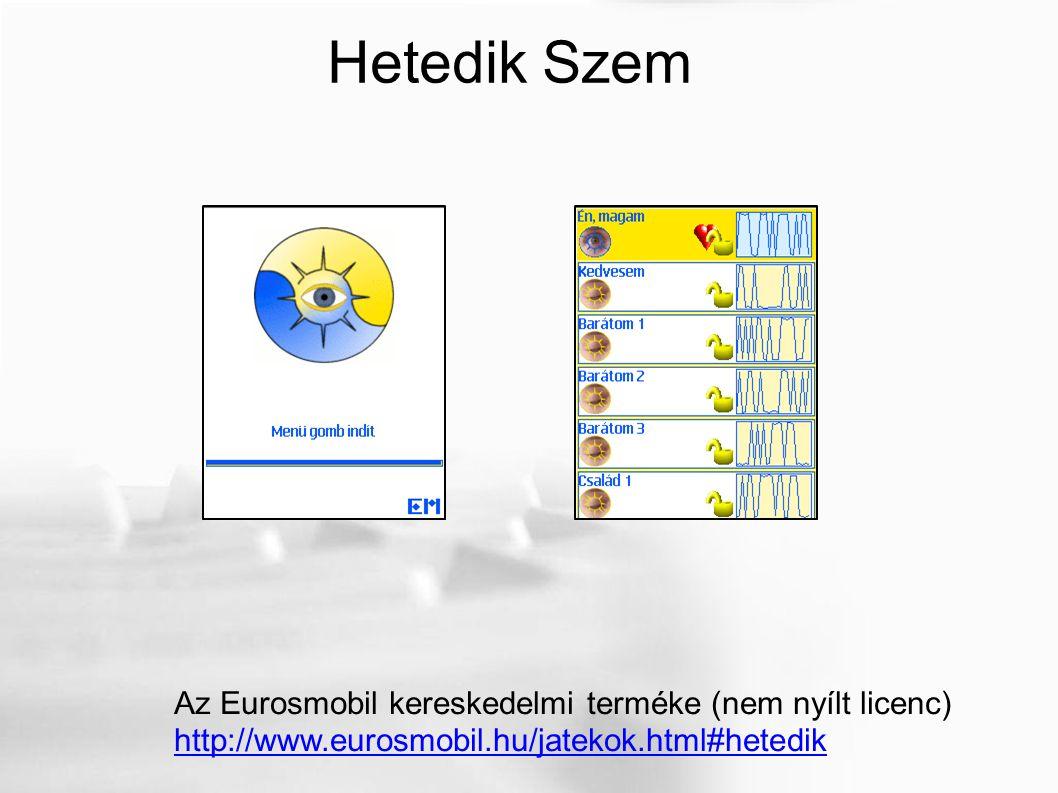 Hetedik Szem Az Eurosmobil kereskedelmi terméke (nem nyílt licenc) http://www.eurosmobil.hu/jatekok.html#hetedik