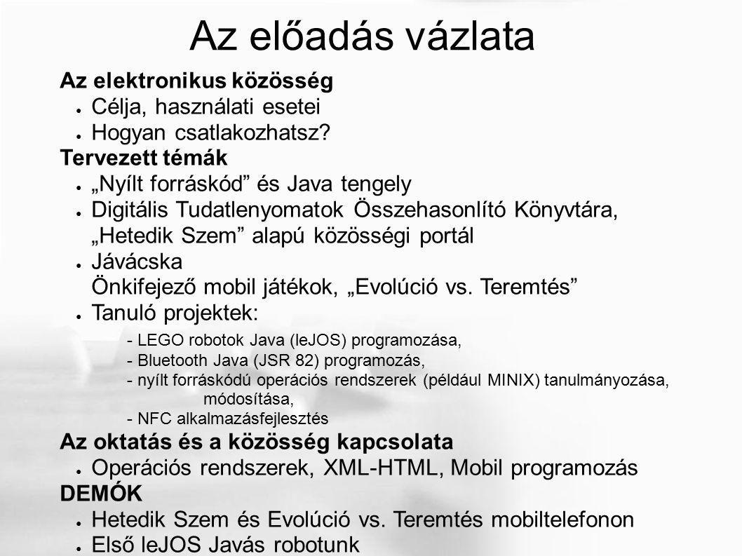 LeJOS, Java for Lego Mindstorms http://lejos.sourceforge.net