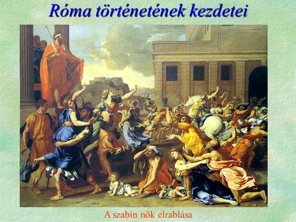 Róma történetének kezdetei A szabin nők elrablása