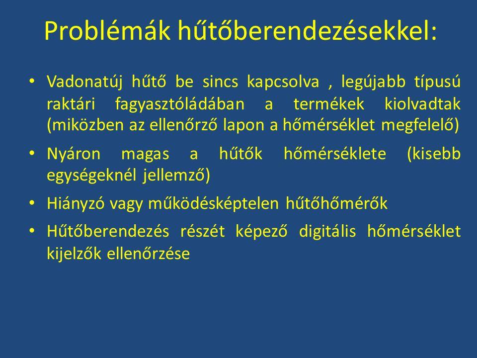 Problémák hűtőberendezésekkel: Vadonatúj hűtő be sincs kapcsolva, legújabb típusú raktári fagyasztóládában a termékek kiolvadtak (miközben az ellenőrz