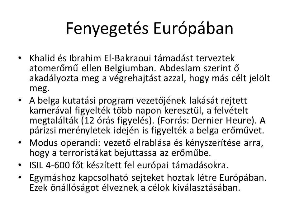 Fenyegetés Európában Khalid és Ibrahim El-Bakraoui támadást terveztek atomerőmű ellen Belgiumban.