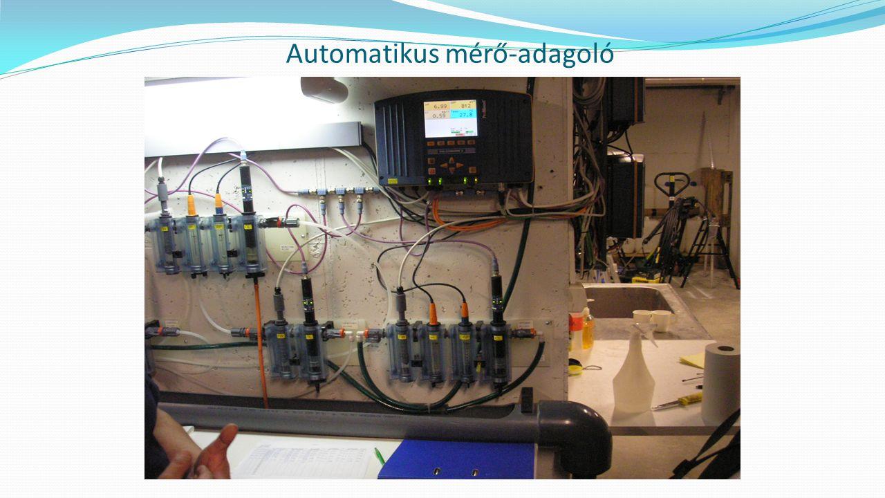 Automatikus mérő-adagoló