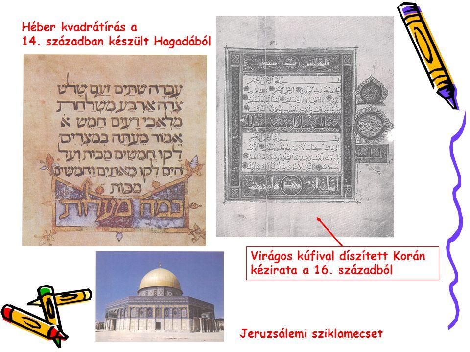 FÖNICIAI ALFABÉTUM A moabita kő A föniciai írás egyik legrégibb emléke 22 betűje